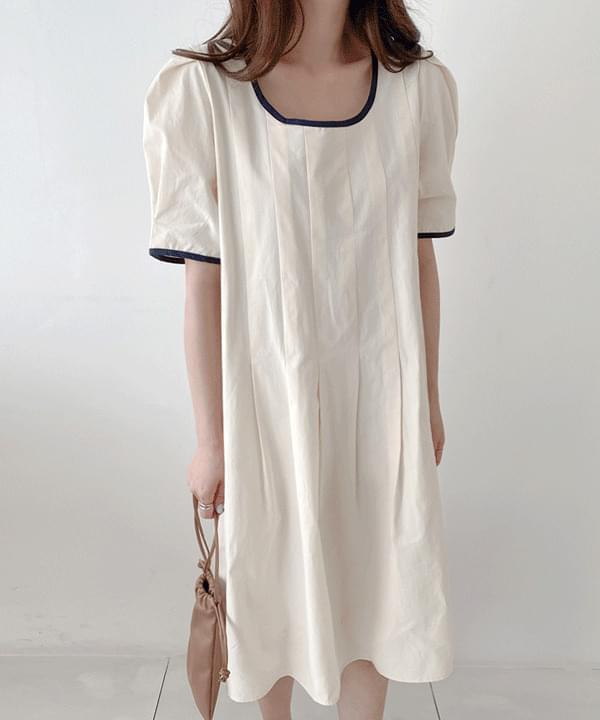 Mood color matching mini Dress