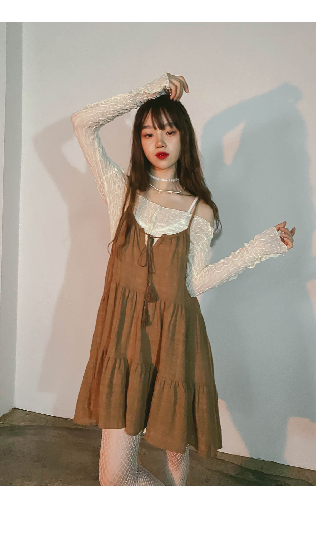 Bohemian tassel mini Dress