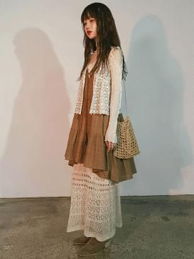 Knitting River Knitwear Long Skirt