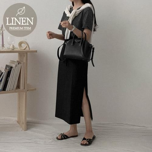 Muir Linen H Long Skirt