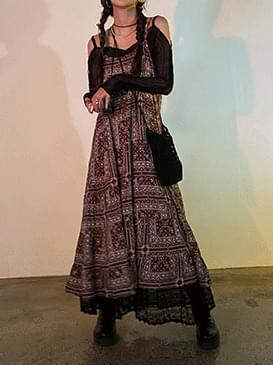 Bohemian Middle Long Dress