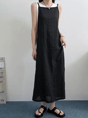 Pop Sleeveless Layered Dress