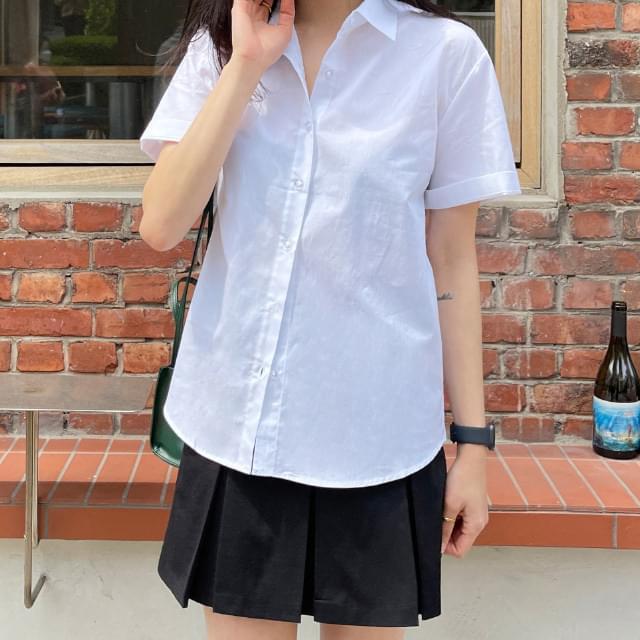 All Day Basic Short Sleeve Shirt