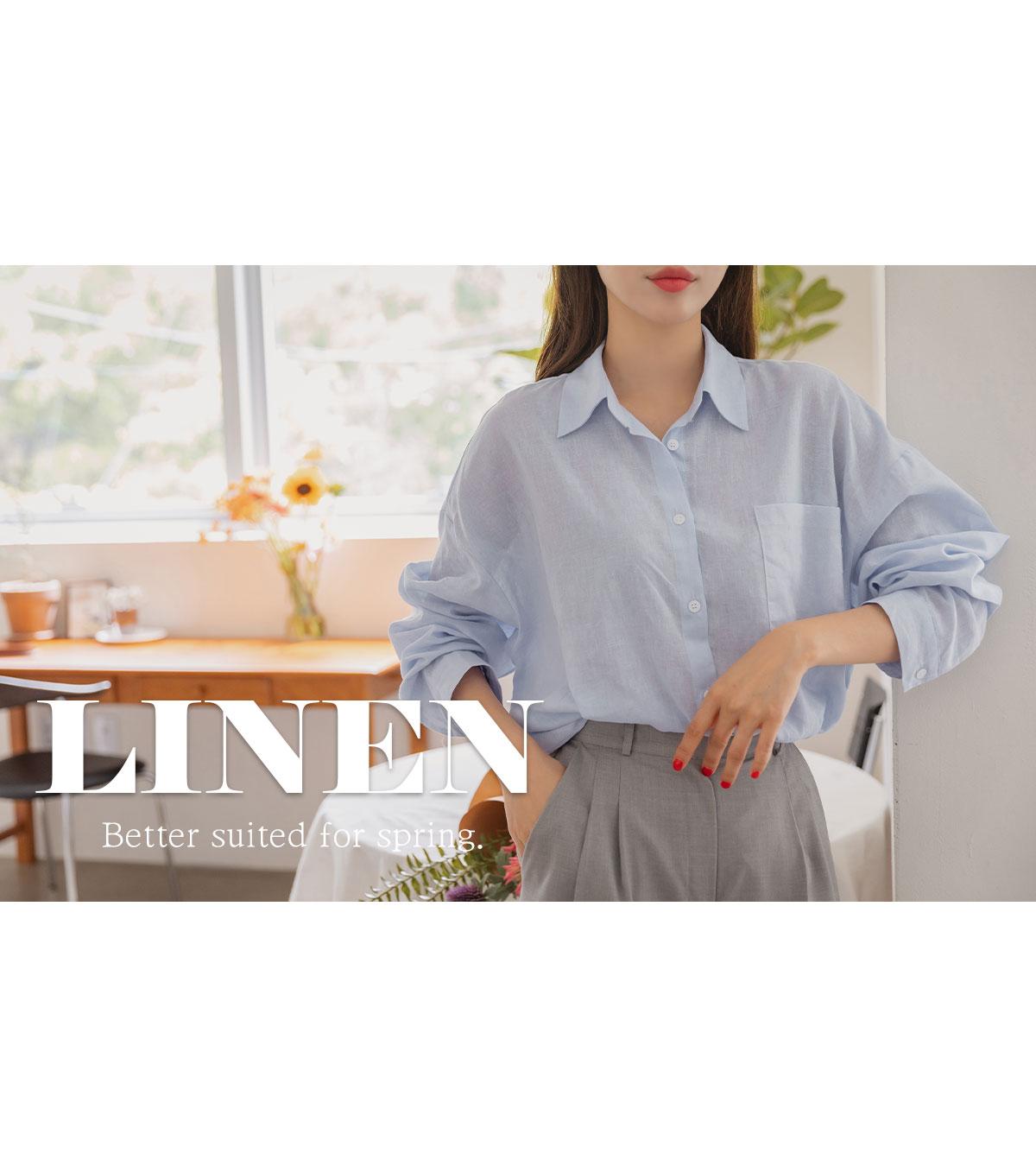 Tamas Loose-fit linen shirt