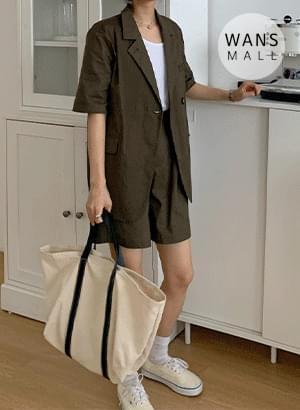 JK4559 Wilson Linen Short Sleeve Jacket