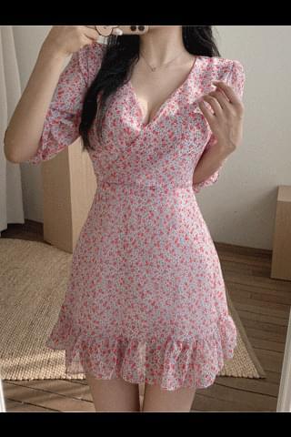 Blooming Chiffon Dress