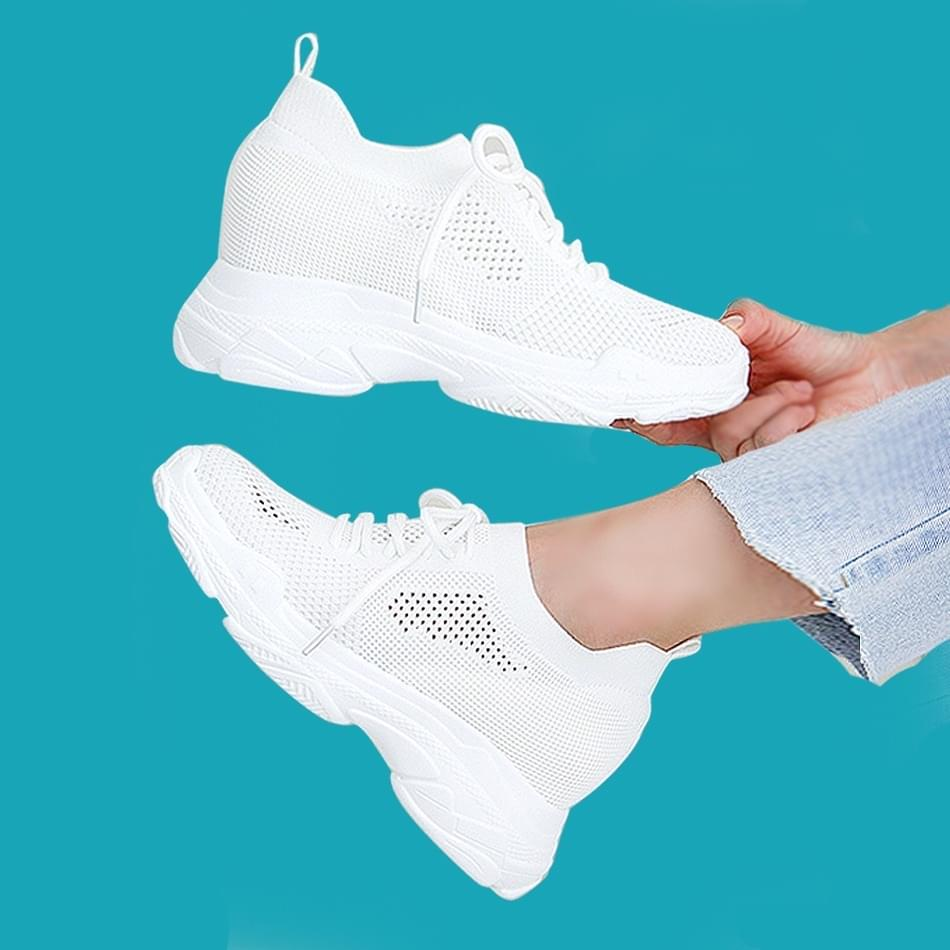 Loinz height-high sock sneakers 8cm