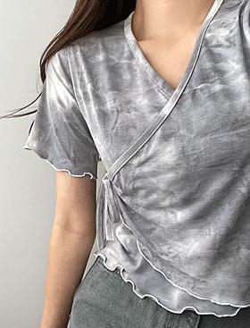 Water Printing Wrap Ribbon T