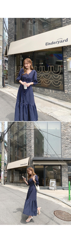 Cool Dot Dress