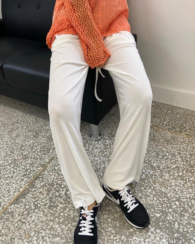 Summer slim training pants
