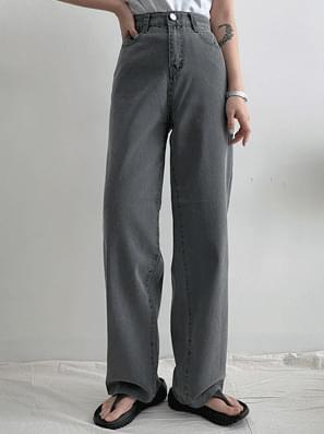 Moroccan Faded Cotton Wide Pants