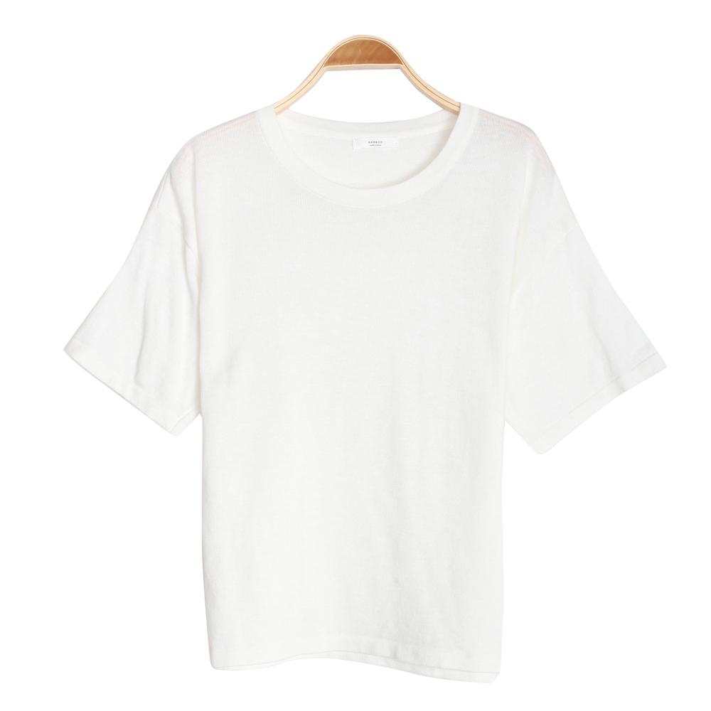 반팔 티셔츠 화이트 색상 이미지-S2L3