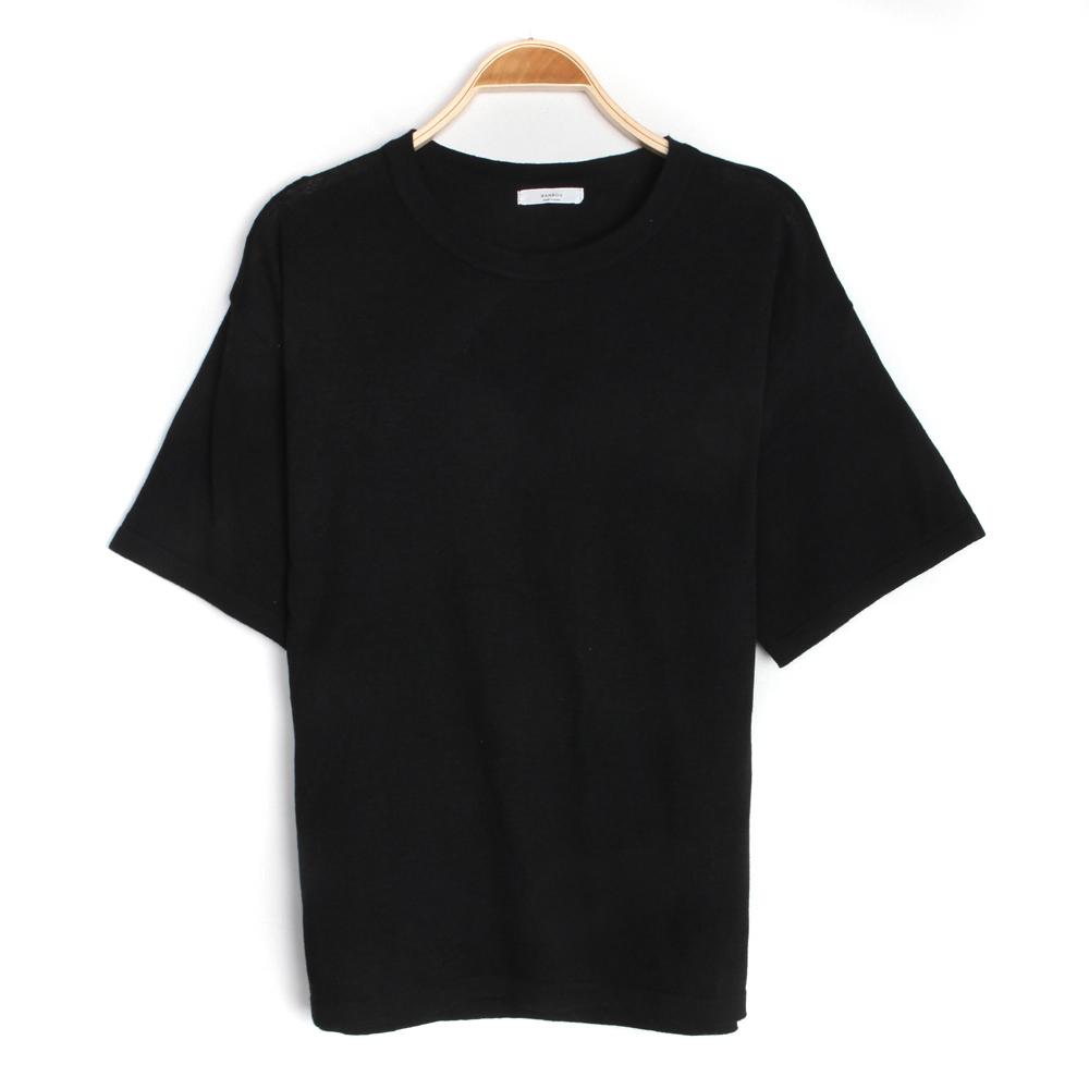 반팔 티셔츠 차콜 색상 이미지-S2L1