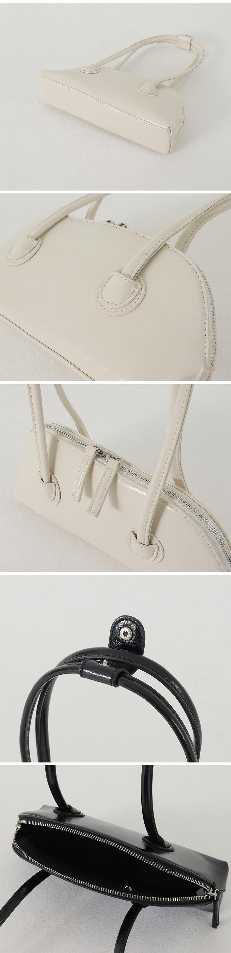 Picnic leather shoulder bag