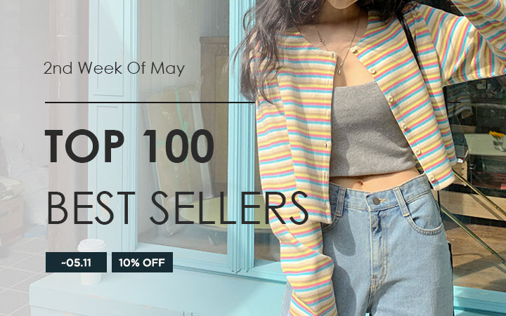 TOP 100 BEST SELLERS - 2nd Week Of May