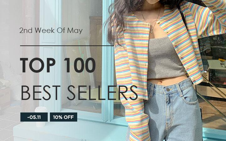 TOP 100 BEST SELLERS - 2nd Week Of May