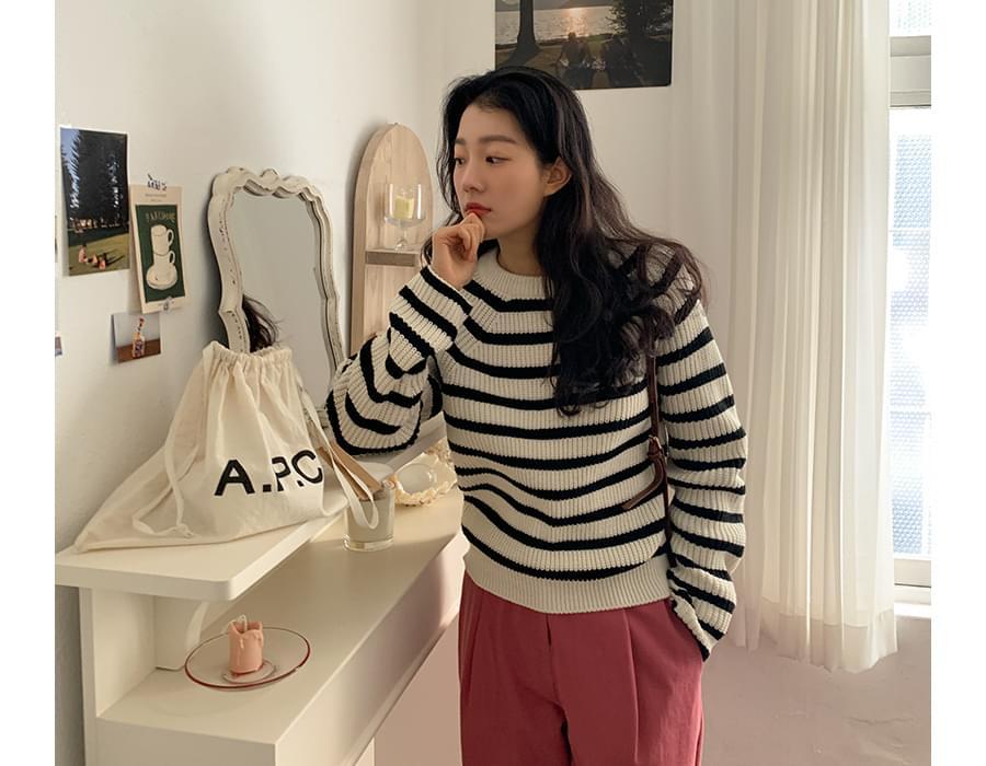 Pudding Stripe Knitwear