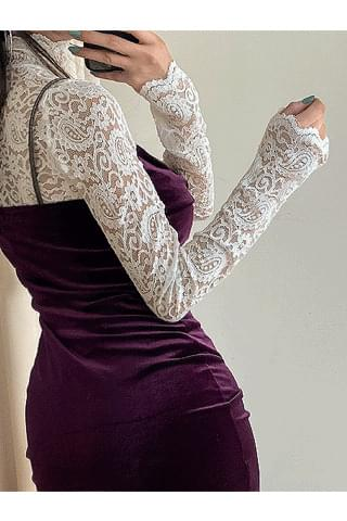 Shane lace blouse