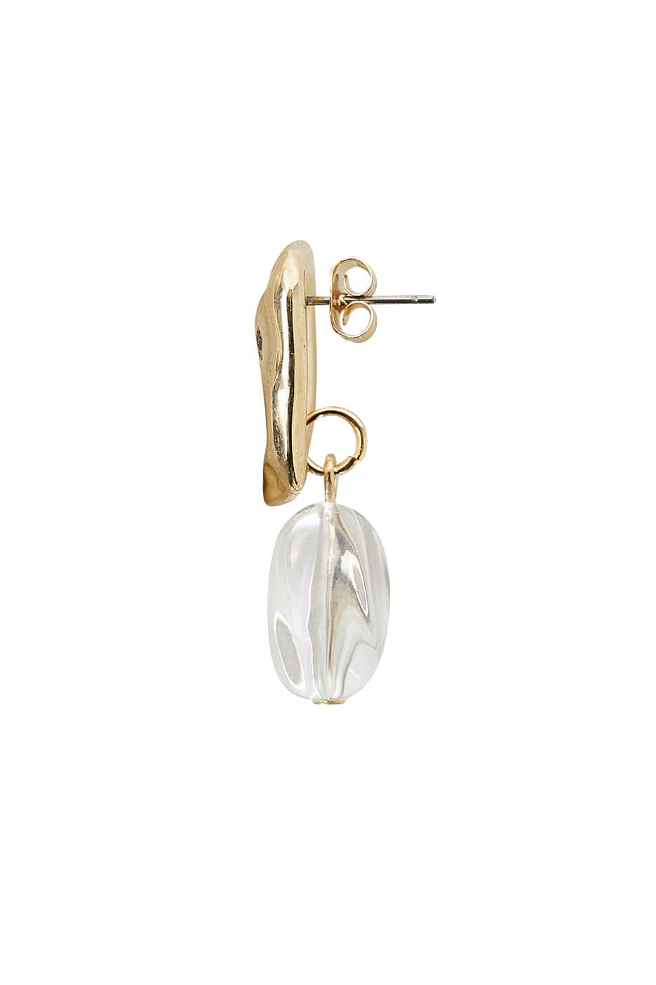 Louis gold earrings