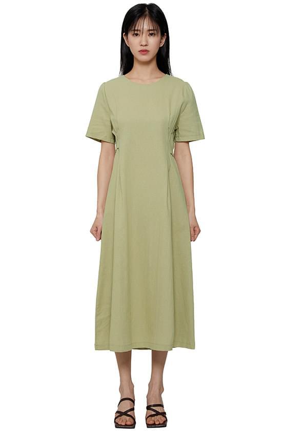 Need flared linen long dress
