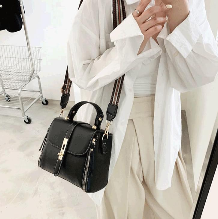 1366 stitch two strap shoulder bag