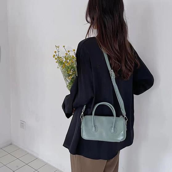 Handle mini square shoulder bag