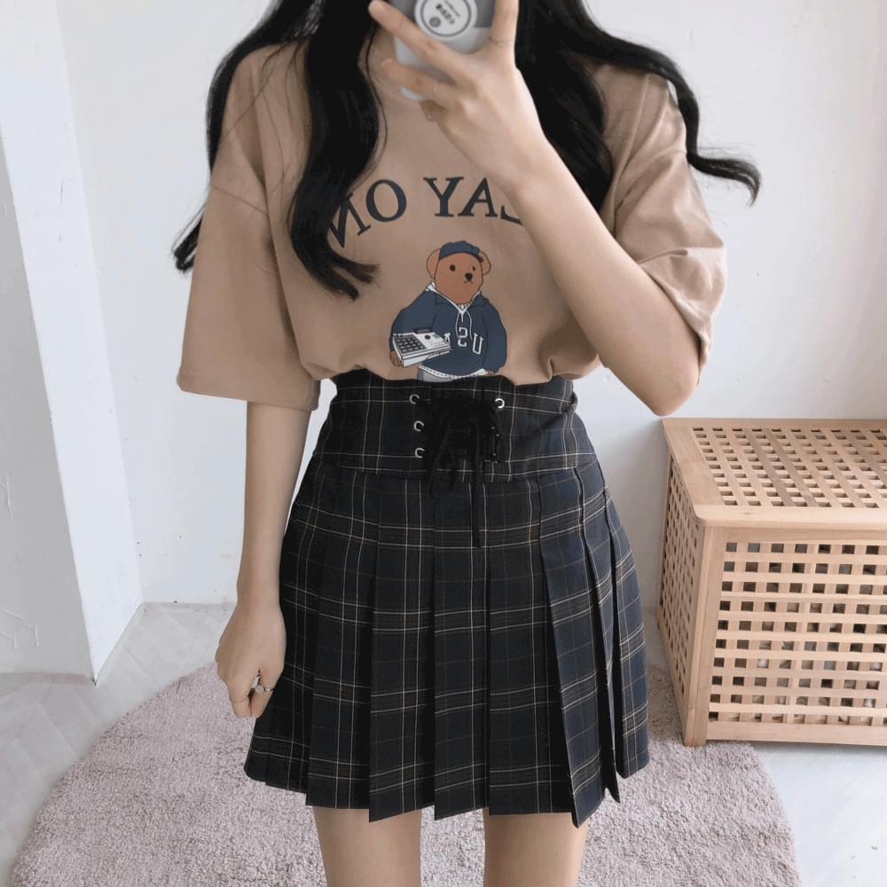 Play bear short-sleeved T-shirt