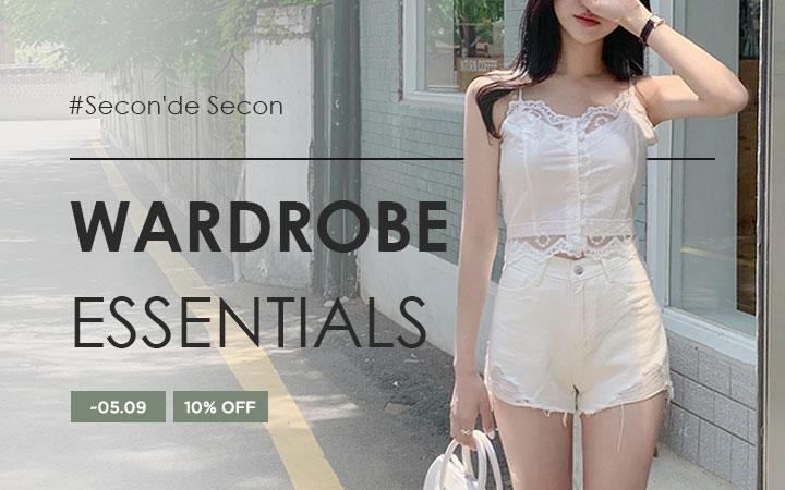 Wardrobe Essentials - Secon'de Secon