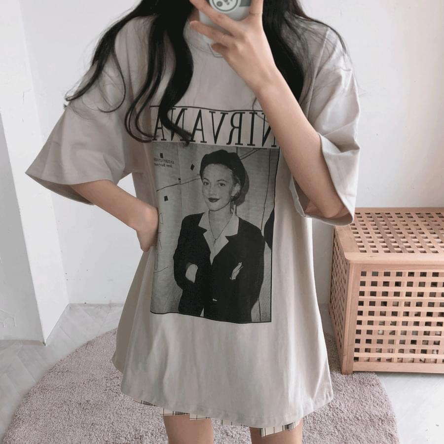NIRVANA Boxy Short Sleeve T-Shirt