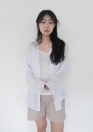 clean linen shirt