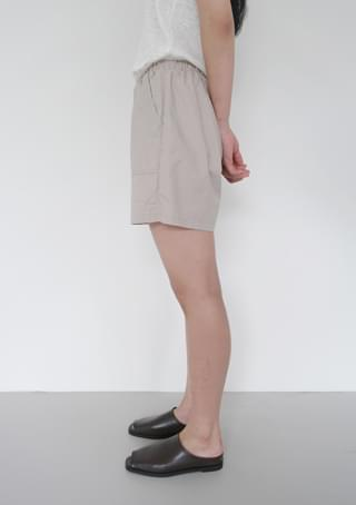 casual pocket half pants
