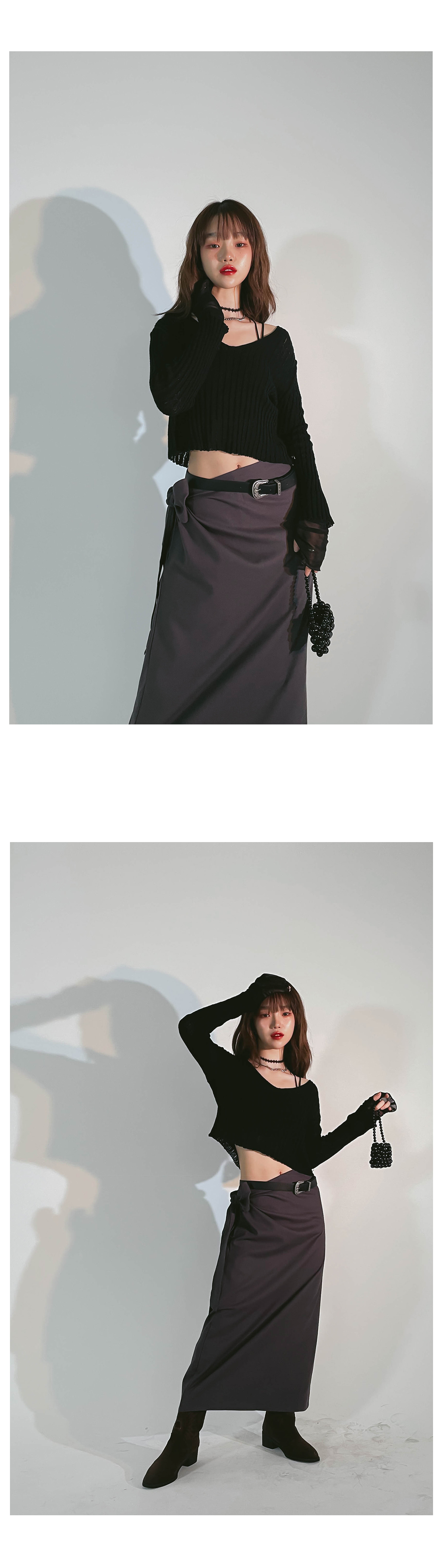 Linen Lovey Long Skirt