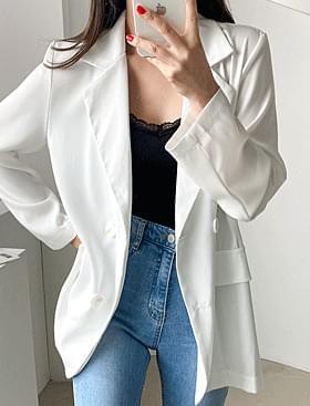 ★Plan★ Silky Summer JK Summer Long Sleeve Jacket:D