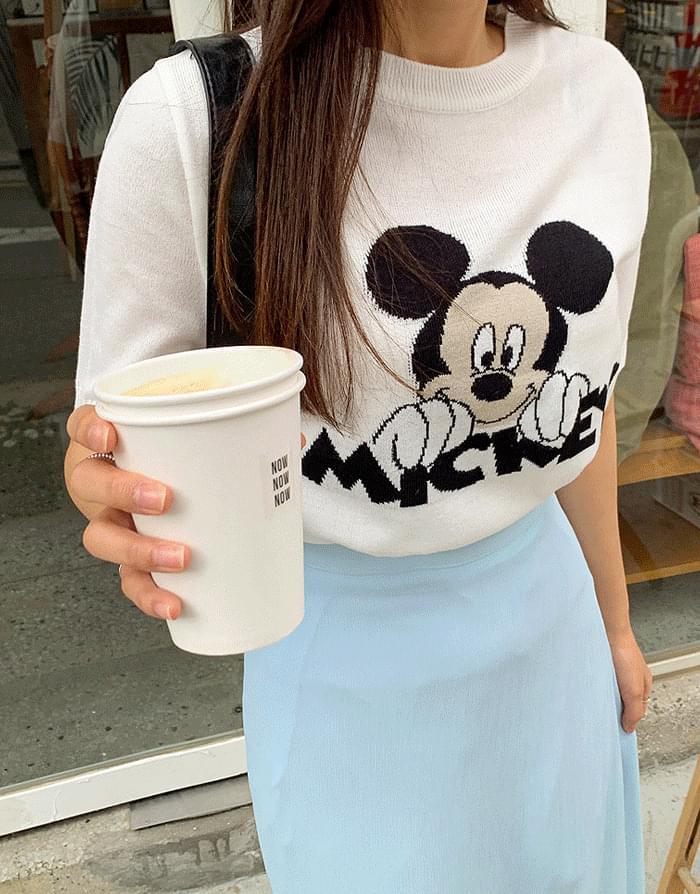 Mickey Short Sleeve Knitwear