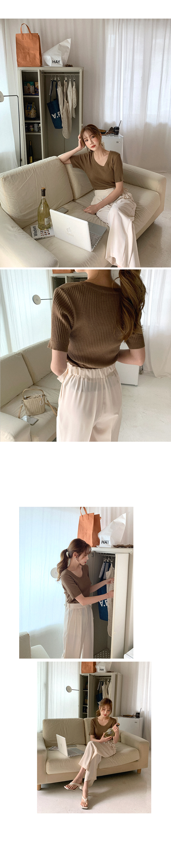 Chic Modern Round Knitwear