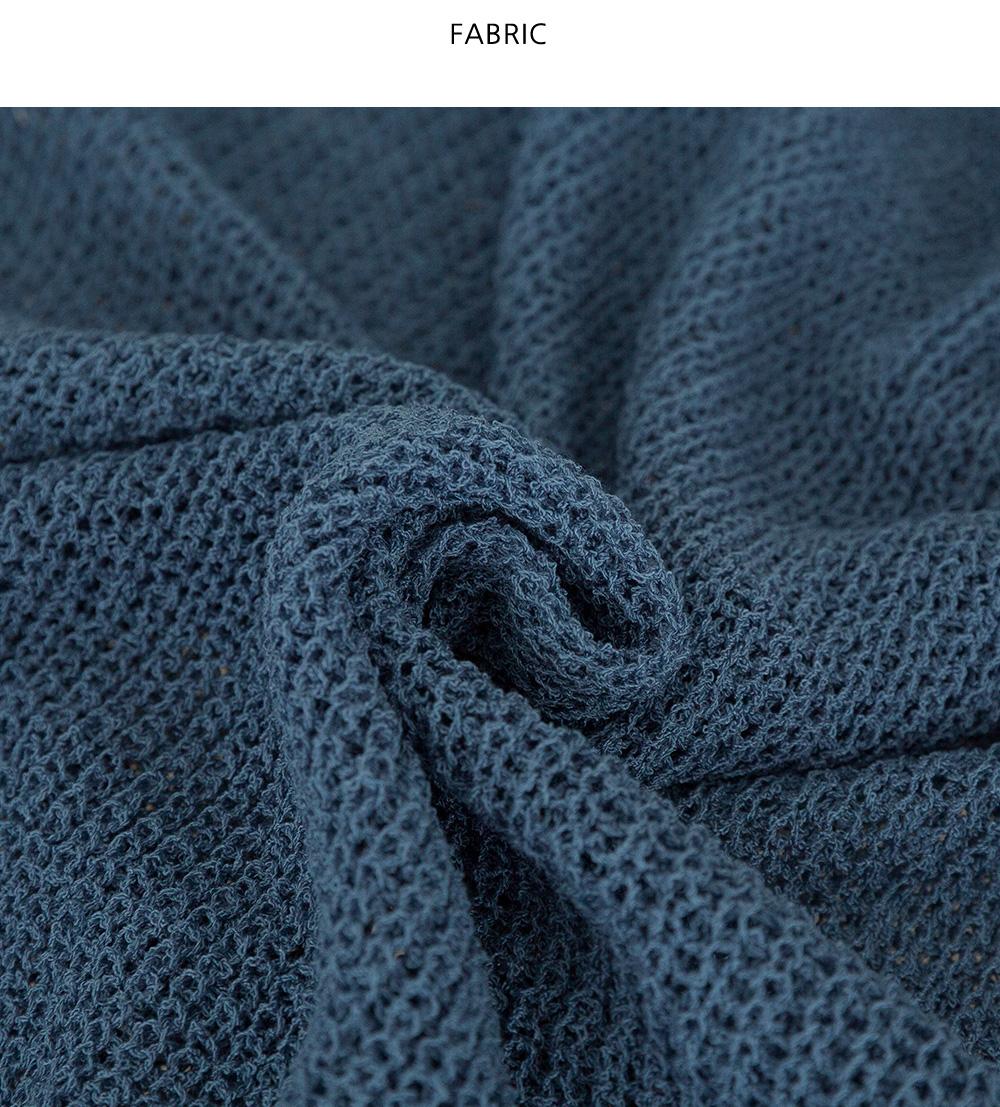 Nice V-Neck Hachibukle Knitwear