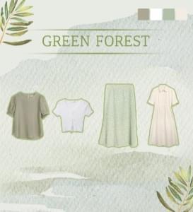 Codibook Delight Bag #1 green forest