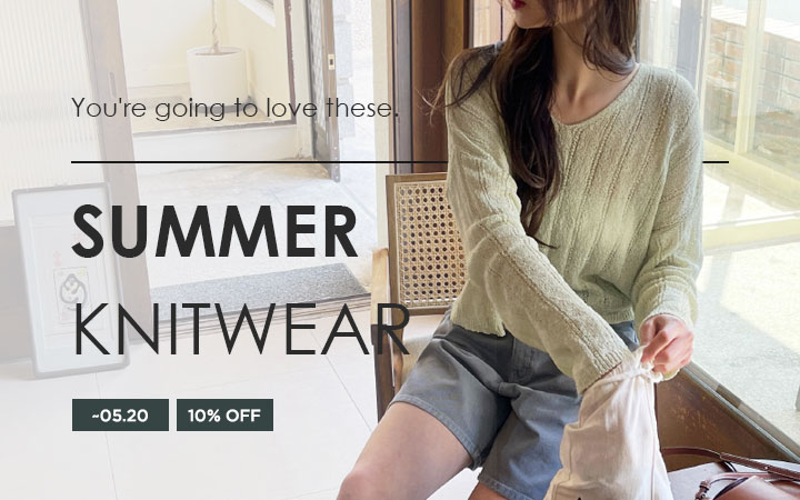 You're going to love these - Summer Knitwear