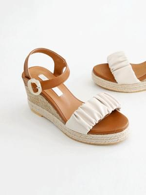 Sweet Day Wedge Slingback Sandals 8cm