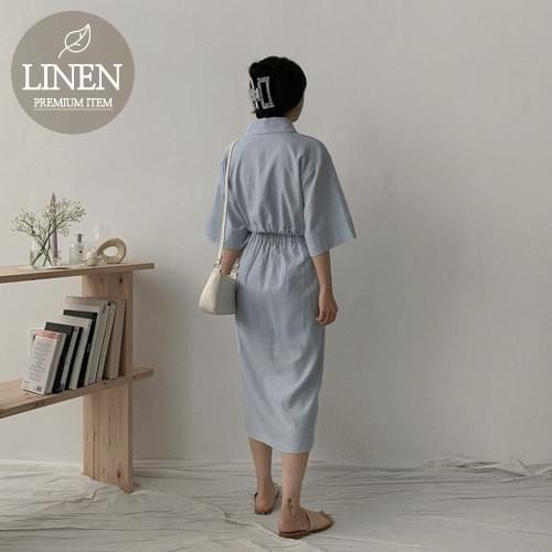 Rezer linen two-piece
