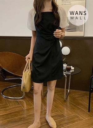 op4576 wars twist point mini Dress