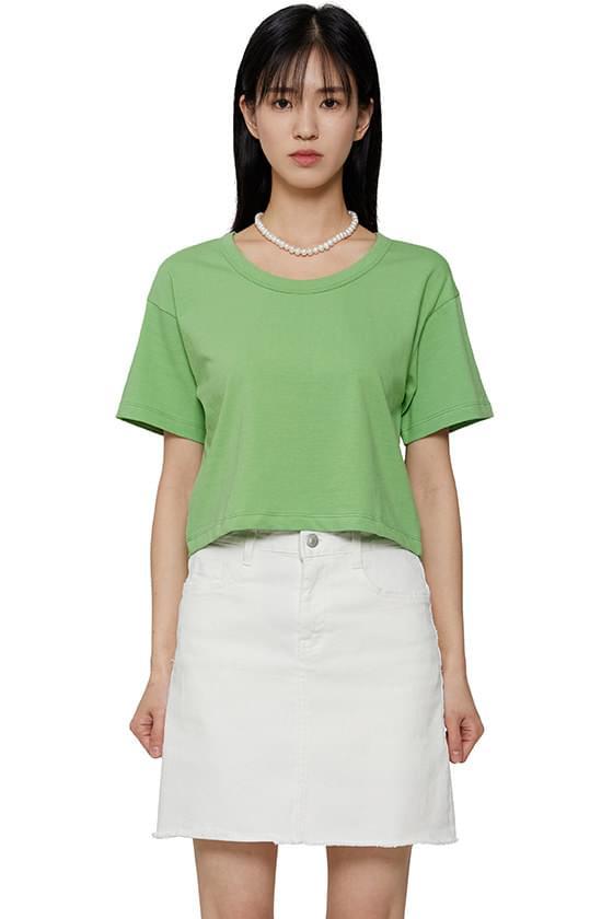 Scoop short T-shirt