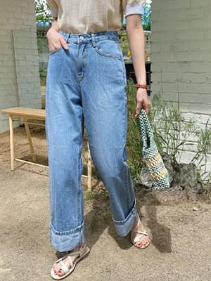 Daeng Daeng Denim Roll Up Pants