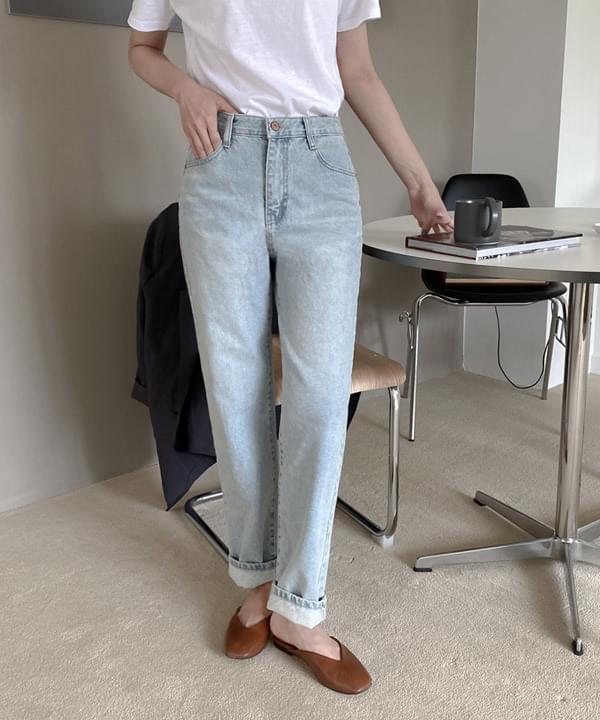 Factory Semi Boy Fit Light Blue Pants