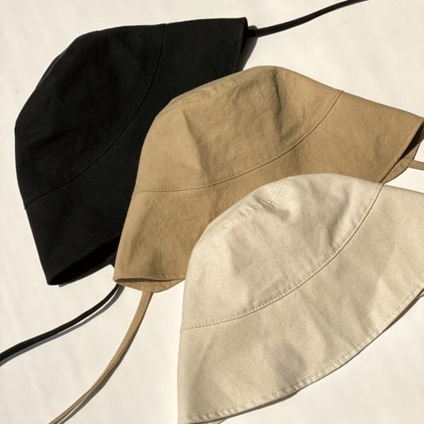 Cotton Barley Bonnet Bungalow Hat 3color