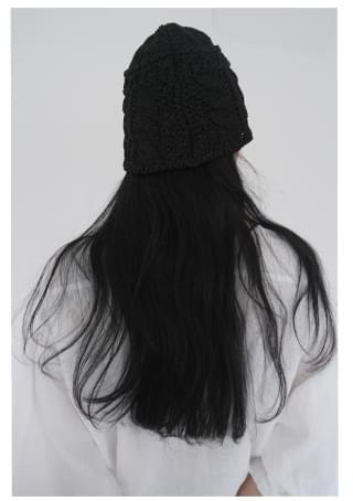 papery twist bucket hat