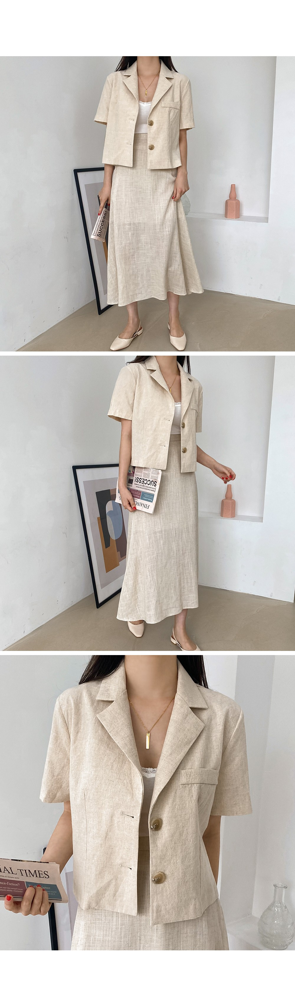 Mary Yu Linen JK