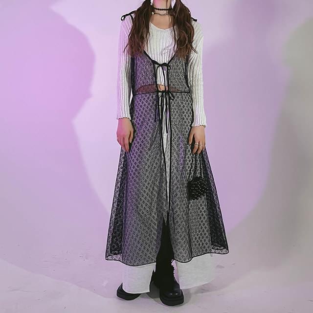 Ribbon Race Rush Long Dress