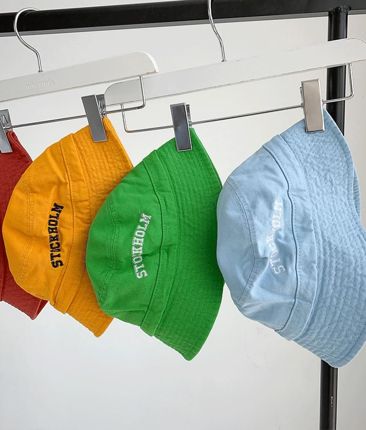 STOCKHOLM Embroidery Bucket Hat