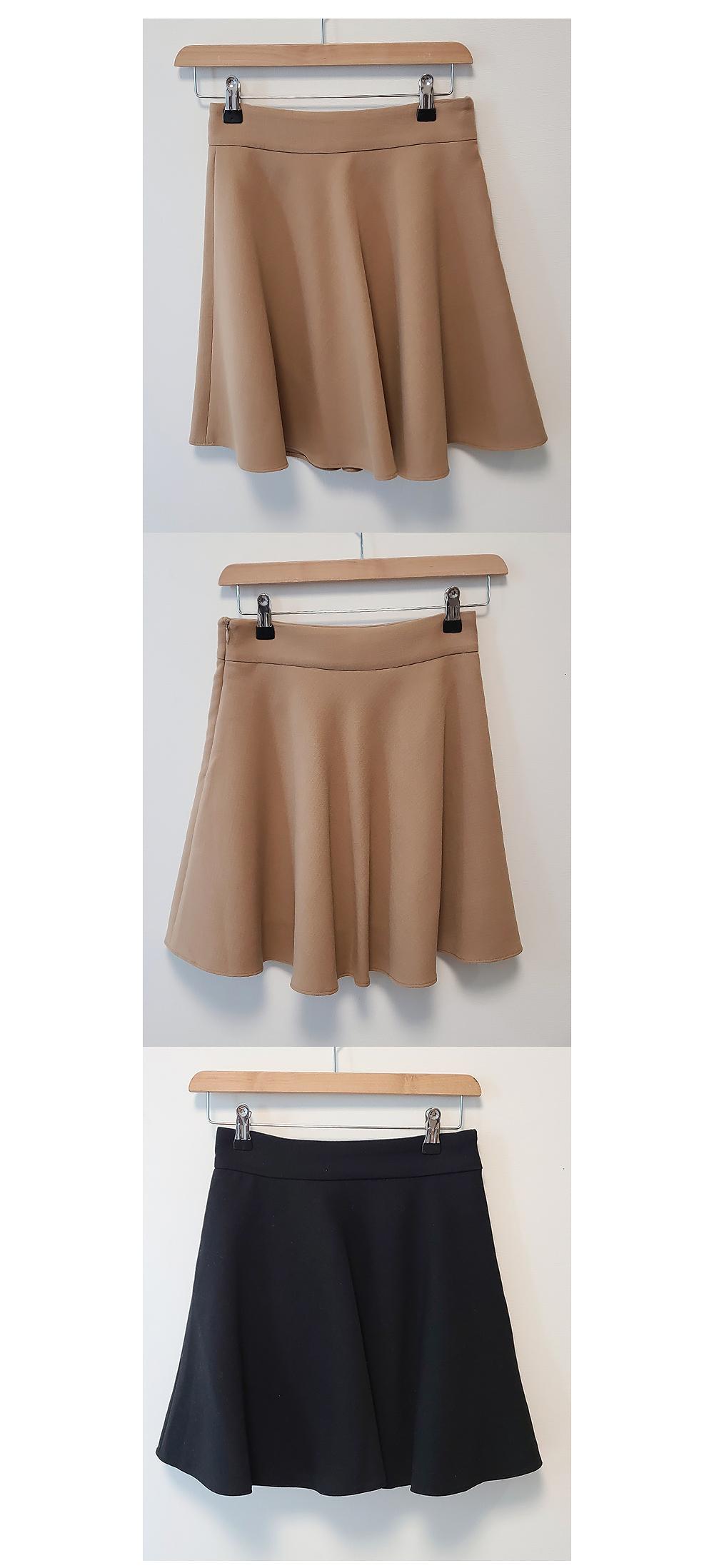 skirt brown color image-S1L2